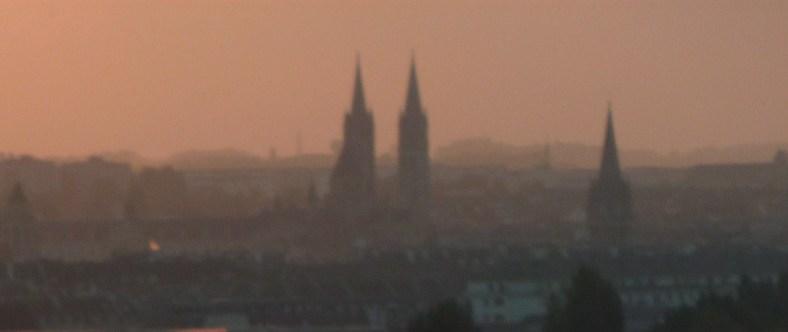 Caen, silhouette